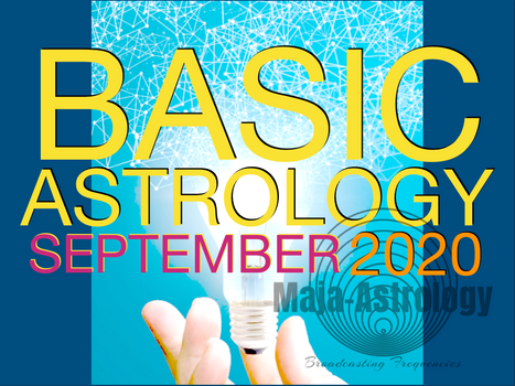 SEPTEMBER ASTROLOGY CLASSES Register!