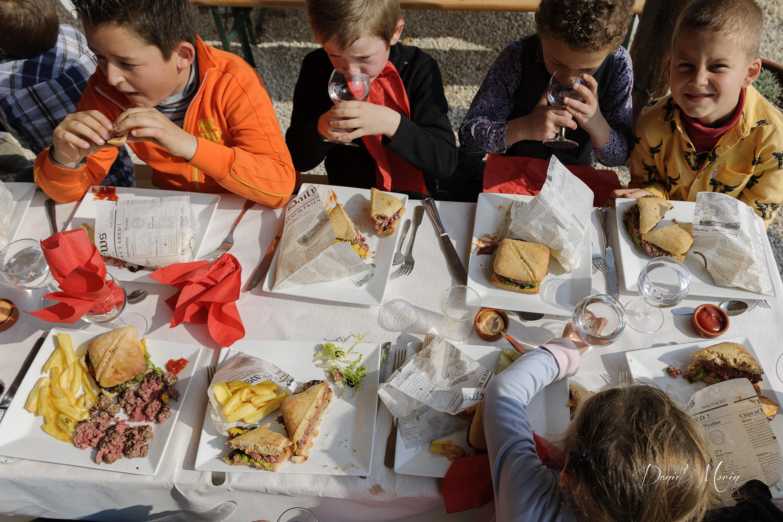 Le repas des enfants