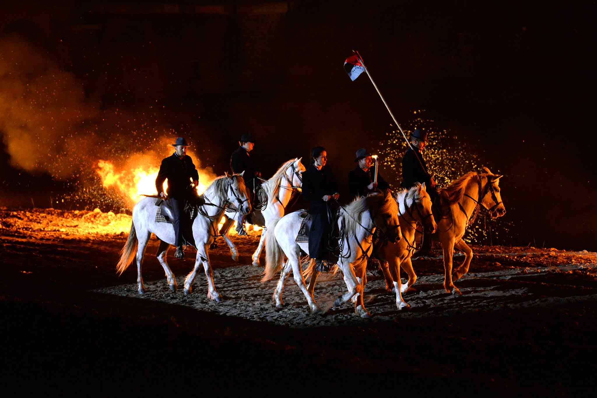 Défilé au flambeau Ales 2016