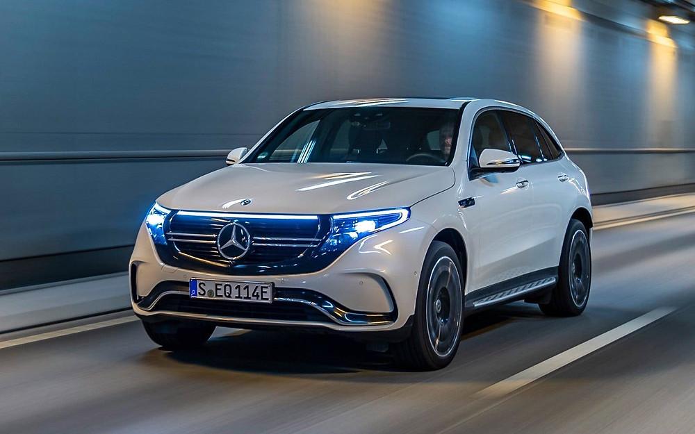 Daimler, Mercedes, White