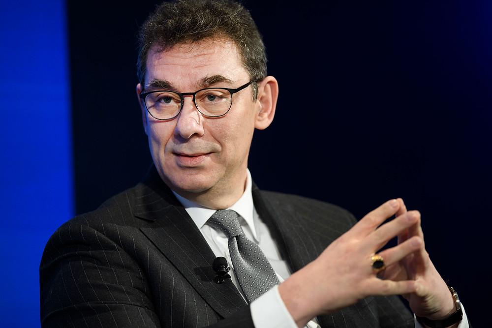 Pfizer'in CEO'su Albert Bourla, Ekim ayına kadar Covid-19 aşısının ilerlemesi konusunda hâlâ umutlu ve bir amaç duygusunun onu beslediğini dile getiriyor