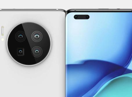 Huawei Mate 40 Pro muhteşem kavisli ekran, 4 kamera gösteren yeni ayrıntılar gün yüzüne çıktı