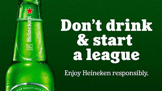 Heineken, Avrupa Süper Ligi'nin çöküşüne mükemmel yanıt verdi