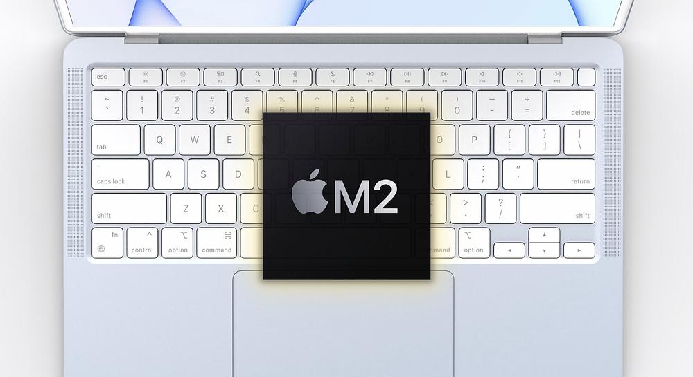 Apple M2 Çip yeni bir tasarımla geliyor