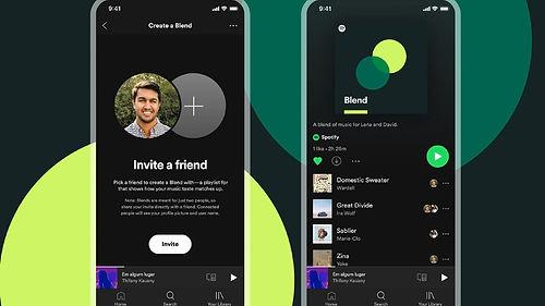 Spotify, belirli kişilere özel gösterim sunan müzik listesi özelliği olan Spotify Füzyon'u tanıttı