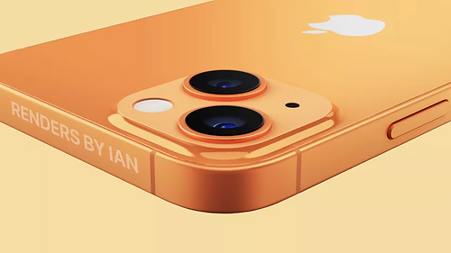 Konsept iPhone 13 tasarımı, daha küçük çentik ve çapraz kameraları hakkında ipucu veriyor