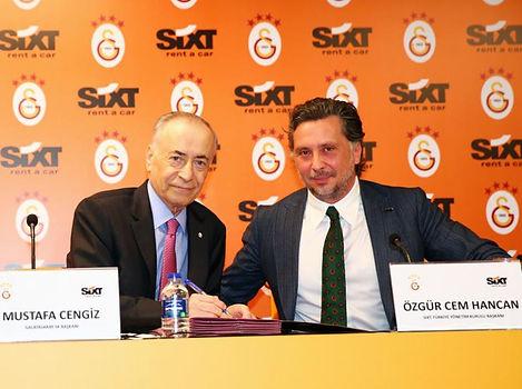 Galatasaray'ın yeni forma sponsoru SIXT