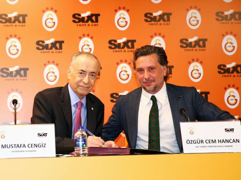 Galatasaray, Başkan, SIXT
