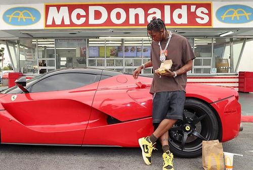 McDonald's, Travis Scott ile sponsorluk anlaşması imzaladı