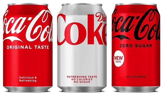 Coca-Cola, sadeleşen kutu tasarımı stratejisine sadık kalarak tüm ürün yelpazesini yeniliyor