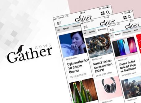The Brand Planet, Gather News uygulamasında yerini aldı