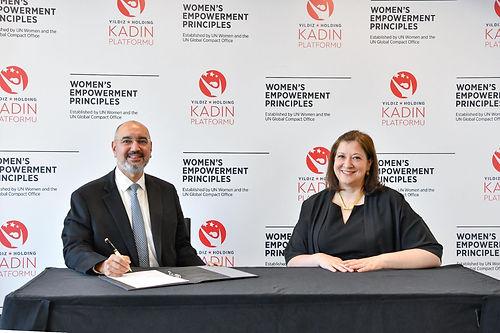 Yıldız Holding, BM kadının güçlenmesi prensiplerini de imzaladı