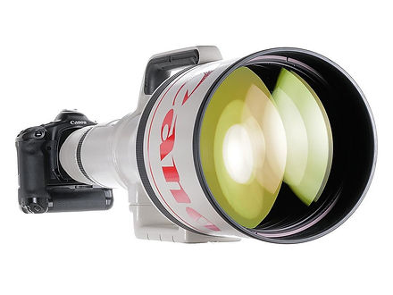 Açık arttırma: Canon EF 1,200mm f/5.6 lensi açık artırmada satın almaya ne dersiniz?