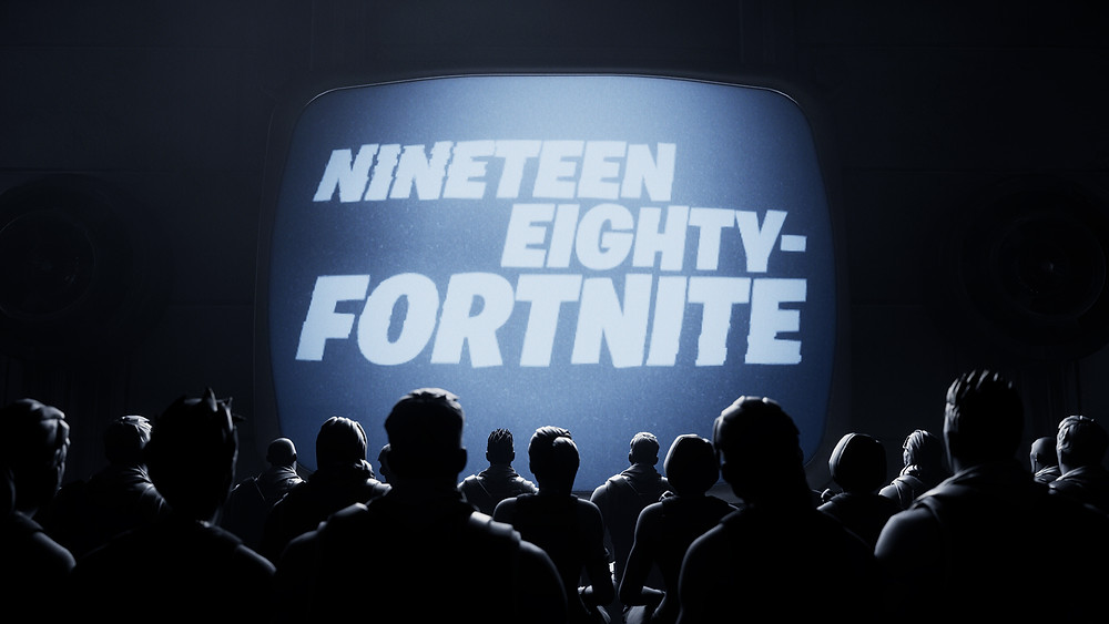 Fortnite Party Royale will premiere a new short: Nineteen Eighty-Fortnite. Join us at 4PM ET.