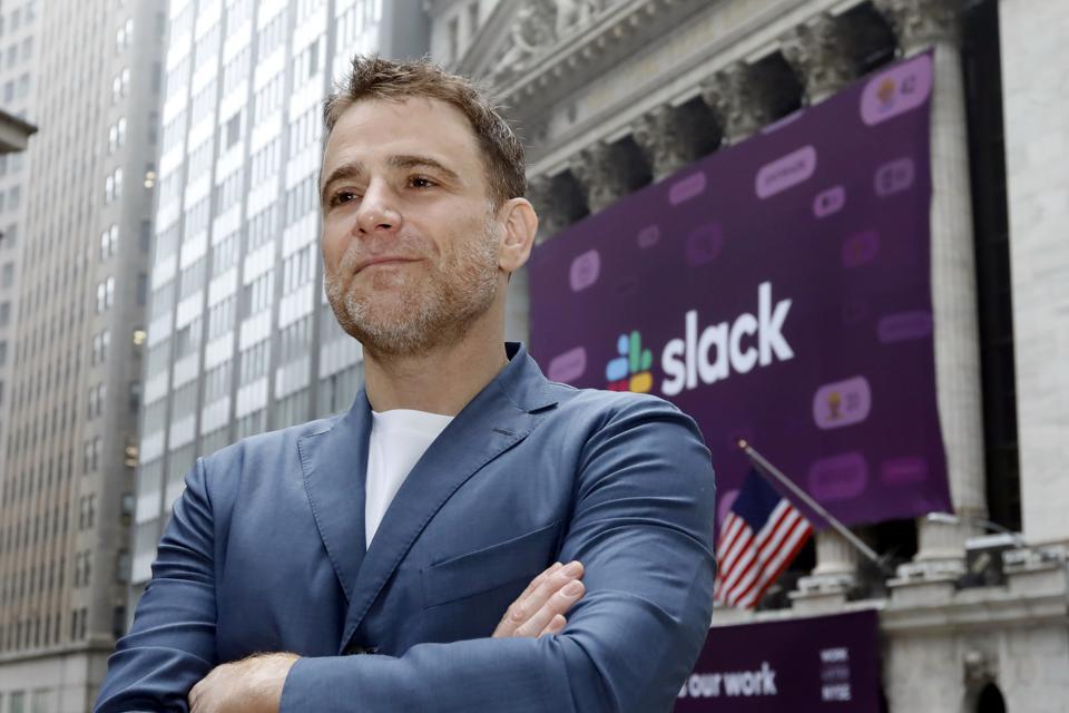 """Slack CEO'su, salgından geçişin zor olacağını söyledi: """"Her iki dünyanın da en kötüsünü yaşamamak çok zaman alacak."""""""