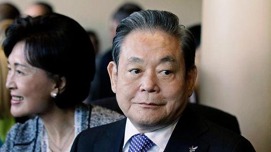 Samsung hisseleri, Başkan Lee Kun-hee'nin vefat haberiyle yükselişte