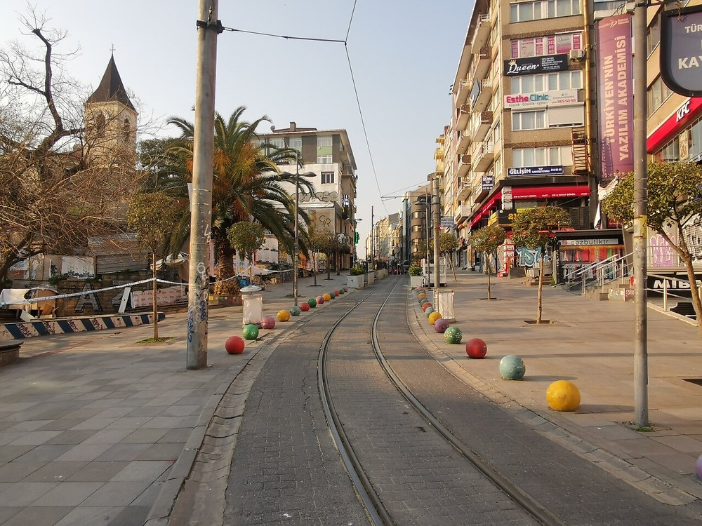 Koronavirüs tedbirleri kapsamında uygulanmaya başlanan sokağa çıkma kısıtlamalarının hayatı nasıl etkilediği Google tarafından paylaşıldı