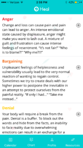 grief healing app