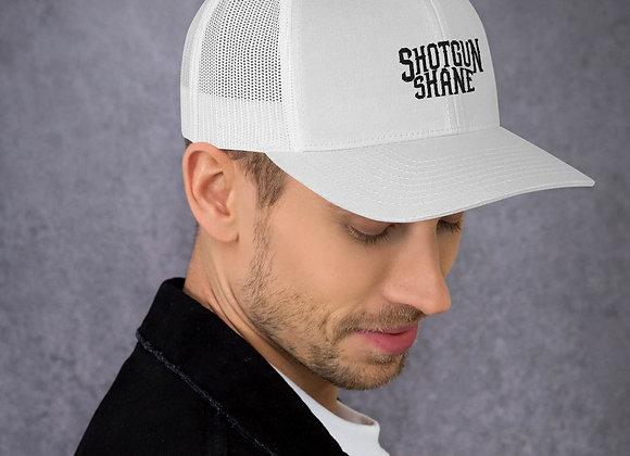Shotgun Shane Trucker Hat - Black Font