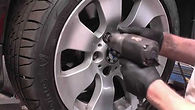 BMW alloy wheel refurbishment