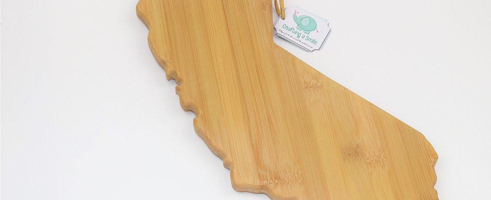 California Bamboo Cutting & Serving Board