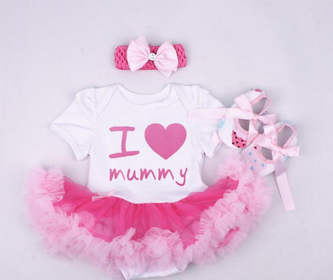 I Love my Mummy (Mommy) Tutu Romper