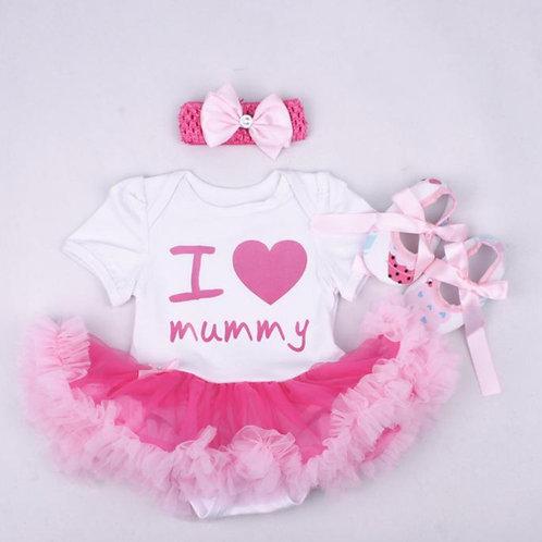 I Love my Mummy (Mommy) Tutu Romper