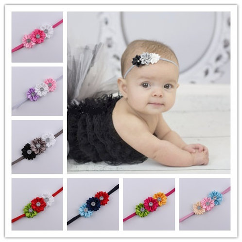 Pretty Girl Flower Headband