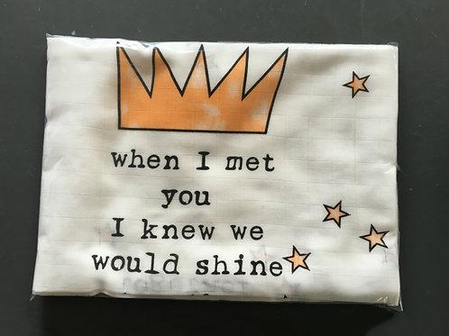 Shine Together Cotton Swaddle