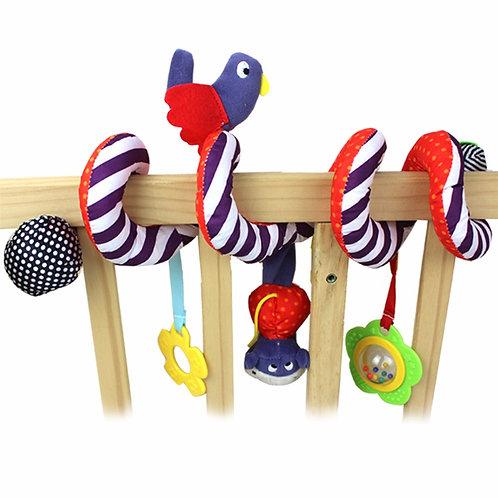 Cute Birdy Spiral Bed & Stroller Toy Set