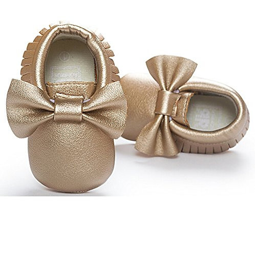 Baby Bow Tie Soft Leather Shoes