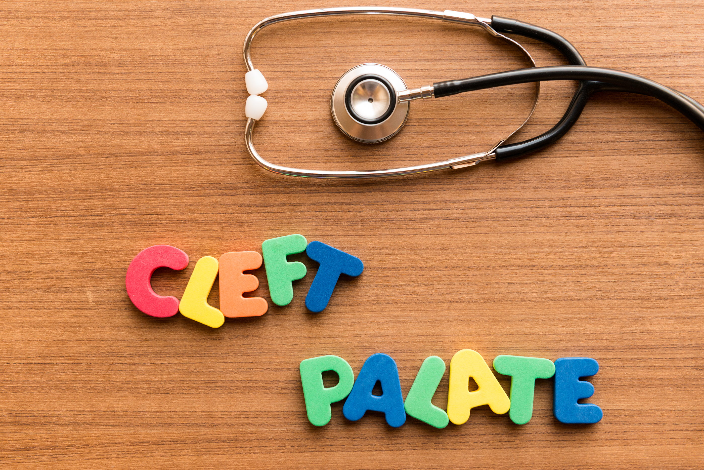 Cleft Palate Colorful Word