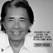 Quote Kenzo Takada