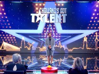 Oscar Arnold doet succesvol auditie bij Holland's Got Talent