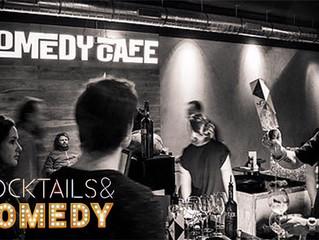Cocktails & Comedy één keer per maand bij Comedy Café