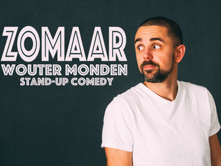Wouter Monden met 'Zomaar' in première op Utrecht International Comedy Festival