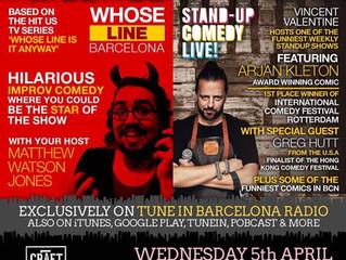 Optreden in Barcelona