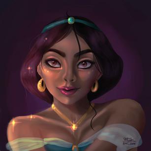 Princess Jasmine!