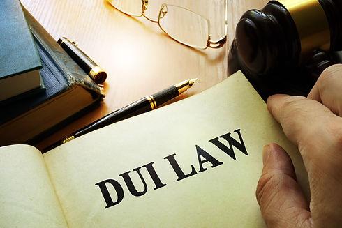 DUI & DWI Law book