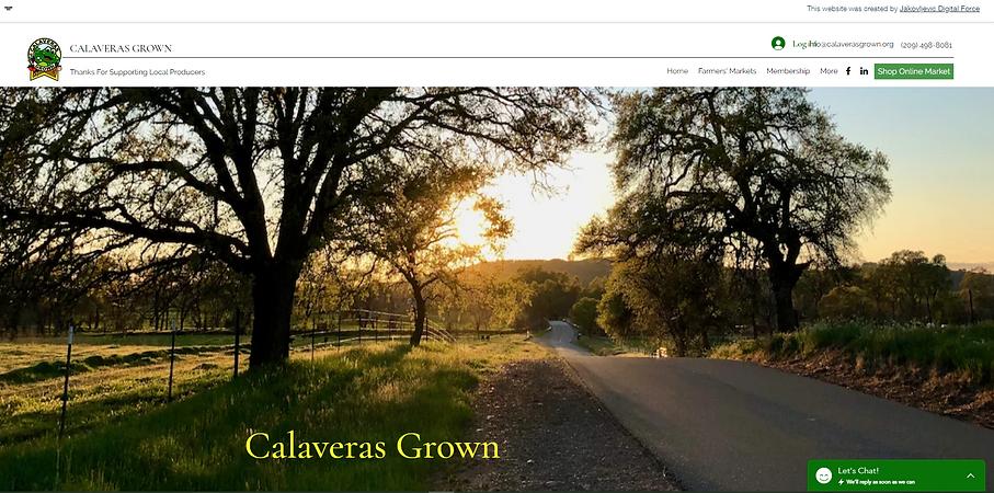 Calveras Grown