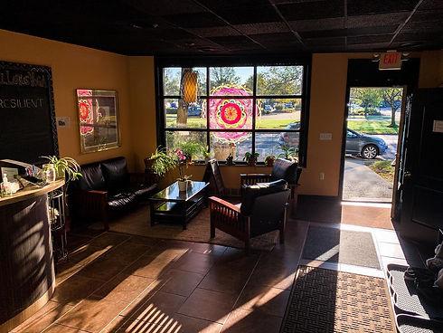 Full Lotus Yoga Interior