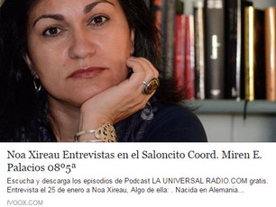 """Entrevista: El Saloncito con Miren Palacios en """"La Universal Radio"""""""