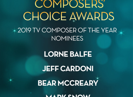 ASCAP Composers' Choice Award nomination