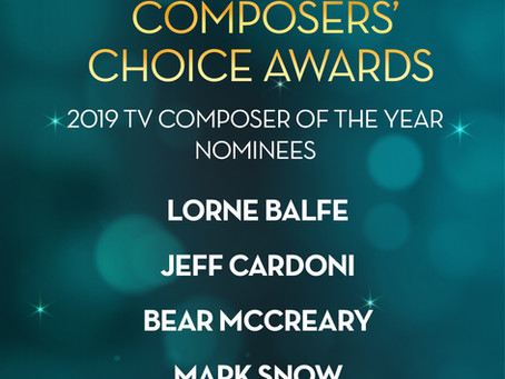 ASCAP Composers' Choice Award nomination