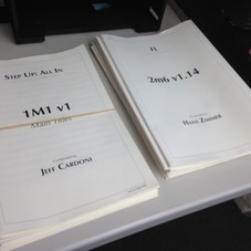 No everyday you see your stack of scores next to Hans'
