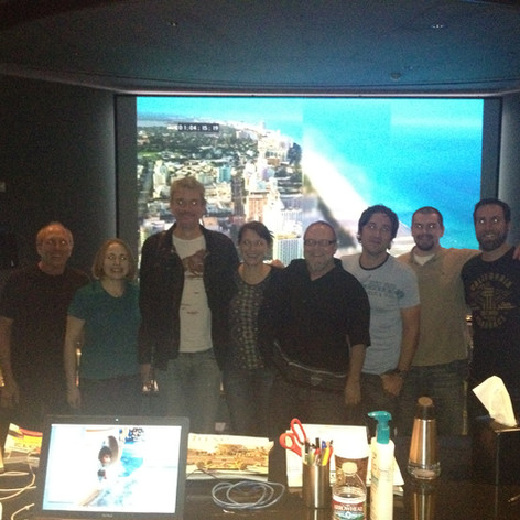 CSI:Miami final mix at Todd AO