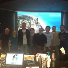 CSI:Miami final mix at Todd AO