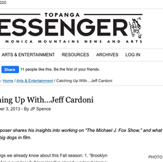 Interview with The Topanga Messenger