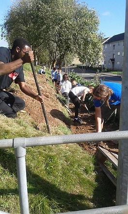 Gardening Club volunteers