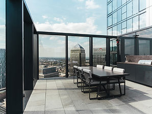 South Quay Plaza London Level 56 roof te